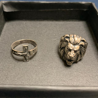 アヴァランチ(AVALANCHE)のAVALANCHE シルバー リング 2つ(リング(指輪))