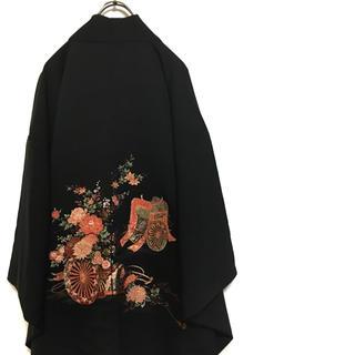 ヨウジヤマモト(Yohji Yamamoto)の迫力満点! 和モード モダンスタイル 羽織 着物  マント(カーディガン)