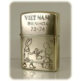 ジッポー(ZIPPO)のベトナムジッポー73-74・ミッキー&バニー・商品番号G-139(タバコグッズ)
