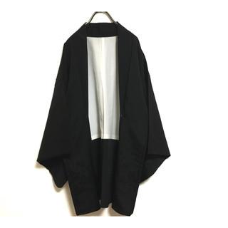 ヨウジヤマモト(Yohji Yamamoto)の迫力満点! マット和モード モダンスタイル 羽織 着物  マント(カーディガン)