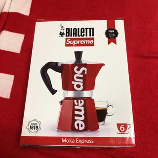 シュプリーム(Supreme)のsupreme moka express コーヒーメーカー BIALETTI(エスプレッソマシン)