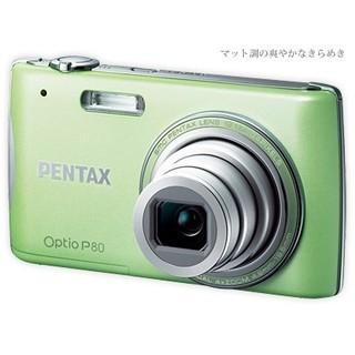 ペンタックス(PENTAX)の【超美品】Pentax Optio P80【動画撮影可能】(コンパクトデジタルカメラ)