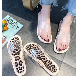 アメリヴィンテージ(Ameri VINTAGE)のclear sandal(サンダル)