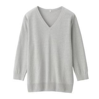 ムジルシリョウヒン(MUJI (無印良品))の無印良品 MUJ Vネックセーター(ニット/セーター)