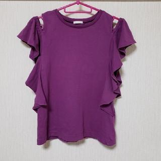 ジーユー(GU)のGU 肩出しトップス 美品(Tシャツ/カットソー)