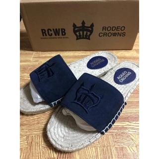 ロデオクラウンズワイドボウル(RODEO CROWNS WIDE BOWL)の【新品】RCWB ☆ロゴサンダル☆(サンダル)