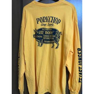 テンダーロイン(TENDERLOIN)のPORKCHOP GARAGE SUPPLY PORK BACK L/S TEE(Tシャツ/カットソー(七分/長袖))