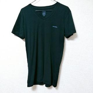 ディーゼル(DIESEL)の未使用*DIESEL*『S』*ワンポイント*ロゴ*Tシャツ(Tシャツ/カットソー(半袖/袖なし))