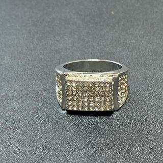 指輪 リング メンズ シルバー ジルコニア CZダイヤ(リング(指輪))