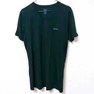 ディーゼル(DIESEL)の未使用*DIESEL*『M』ワンポイントロゴ*Tシャツ(Tシャツ/カットソー(半袖/袖なし))