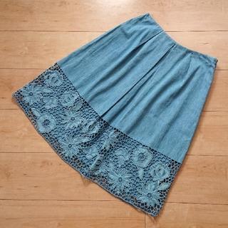 シビラ(Sybilla)のSyBillaシビラのスカートM(ひざ丈スカート)