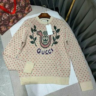 グッチ(Gucci)の2019-2020 秋 GUCCI セーター長袖 レディース 新品、正規品(ニット/セーター)