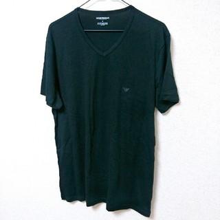 エンポリオアルマーニ(Emporio Armani)のEMPORIO ARMANI*『M』*ワンポイントロゴ*Tシャツ(Tシャツ/カットソー(半袖/袖なし))