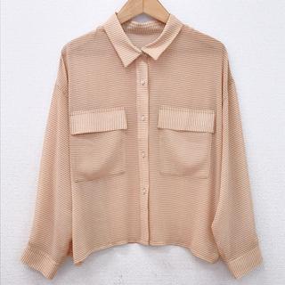 ミスティック(mystic)のmystic ギンガムチェックポケットシアーシャツ(シャツ/ブラウス(長袖/七分))