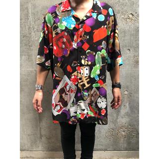 バレンシアガ(Balenciaga)のbalenciaga バレンシアガ ギャンブルシャツ 38(Tシャツ/カットソー(半袖/袖なし))