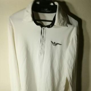 エンポリオアルマーニ(Emporio Armani)のエンポリオ・アルマーニのロングスリーブ、ニットシャツ(Tシャツ/カットソー(七分/長袖))