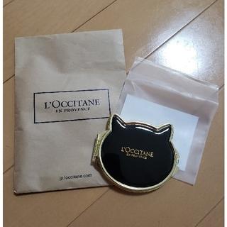 ロクシタン(L'OCCITANE)のL'OCCITANE☆ロクシタン☆ノベルティ 猫ミラー新品未使用品☆(その他)