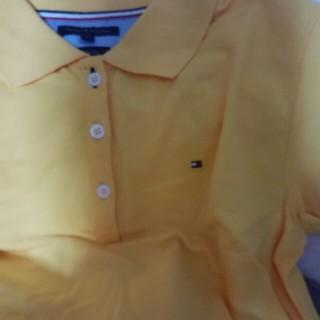 トミーヒルフィガー(TOMMY HILFIGER)のトミーヒルヒガーの黄色のポロシャツお値下げしました。(ポロシャツ)