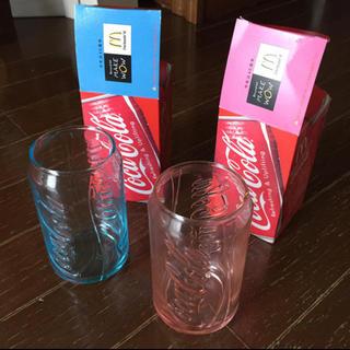 コカコーラ(コカ・コーラ)のコカコーラ 缶型 グラス マクドナルド(ノベルティグッズ)