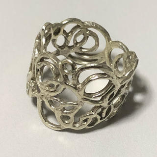 カオル(KAORU)のKAORU アトリエカオル 水玉 リング K10 グリーンゴールド(リング(指輪))