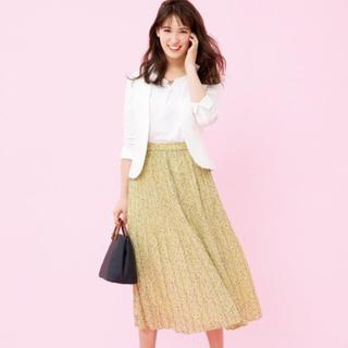 エニィスィス(anySiS)の新品 タグ付き  any sis 小花柄プリーツスカート(ロングスカート)