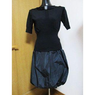 ハナエモリ(HANAE MORI)の新品☆ハナエモリ ALMAENROSE バルーンスカート 38 M(ひざ丈スカート)
