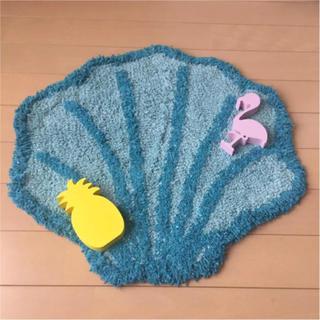 マーメード シェルマット シェルマット 貝殻マット 貝がらマット 玄関マット
