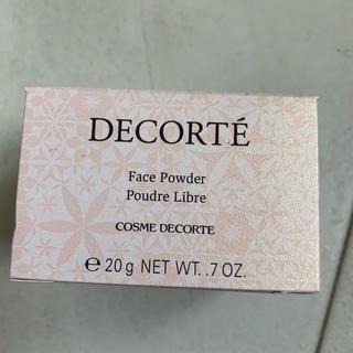 コスメデコルテ(COSME DECORTE)の00.translucent デコルテフェイスパウダー 新品N(フェイスパウダー)