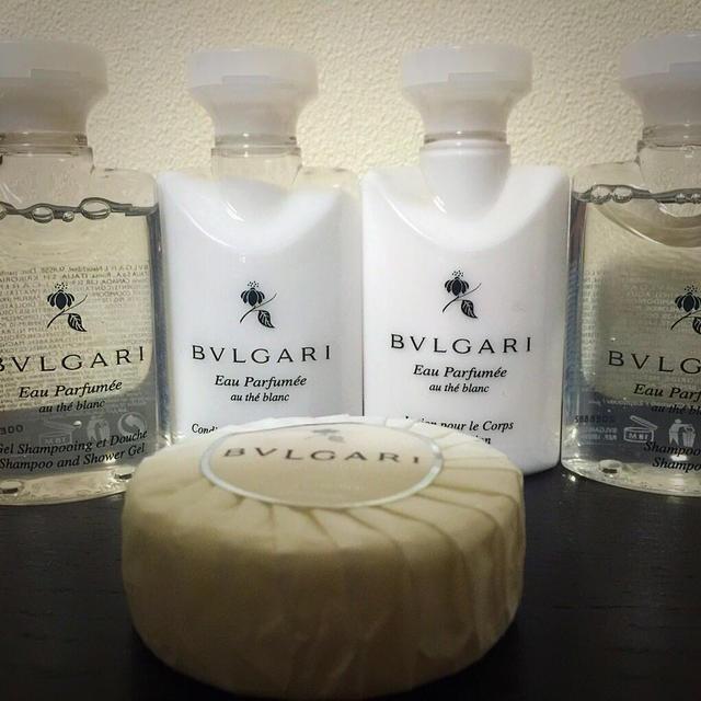 BVLGARI(ブルガリ)のブルガリ アメニティーセット! コスメ/美容のボディケア(ボディソープ / 石鹸)の商品写真