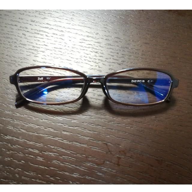 ブルー ライト カット メガネ zoff
