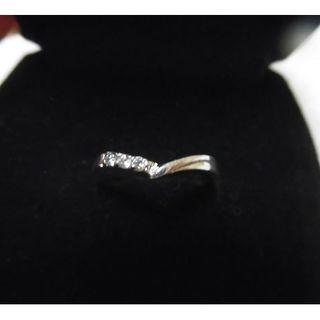 シルバー CZダイヤファッション ピンキーリング  2号サイズ(リング(指輪))