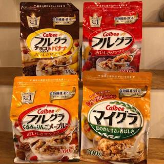 カルビー(カルビー)のカルビー フルグラ 4種セット(菓子/デザート)
