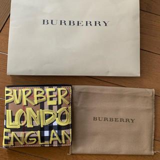 バーバリー(BURBERRY)のBurberry 二つ折り財布 新作 早い者勝ち ゴリラ様専用(折り財布)
