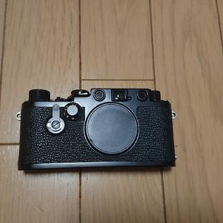 ライカ(LEICA)のライカ3f  後塗りブラックペイント 美品(フィルムカメラ)