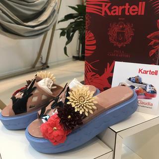 kartell - 新品 kartell カルテル 38 サンダル 定価32400円