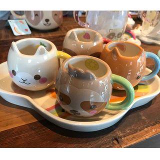 スターバックスコーヒー(Starbucks Coffee)のスタバ 可愛い動物 マグカップ セット 子供 ギフト 大人気 レア 限定(マグカップ)
