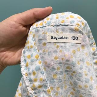 ビケット(Biquette)の最終値下げ!キムラタン ビケット 花柄 セパレート浴衣 浴衣ドレス 100(甚平/浴衣)