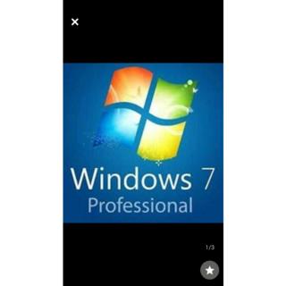 1枚 キー連絡のみ 認証保障 Windows 7 Pro OA プロダクトキーシ(PCパーツ)