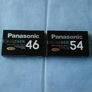 Panasonic - パナソニック カセットテープ RT-HX46 54 2本セット