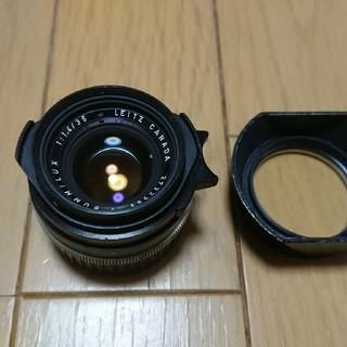 ライカ(LEICA)の球面ズミルックス35ミリ実用美品(レンズ(単焦点))