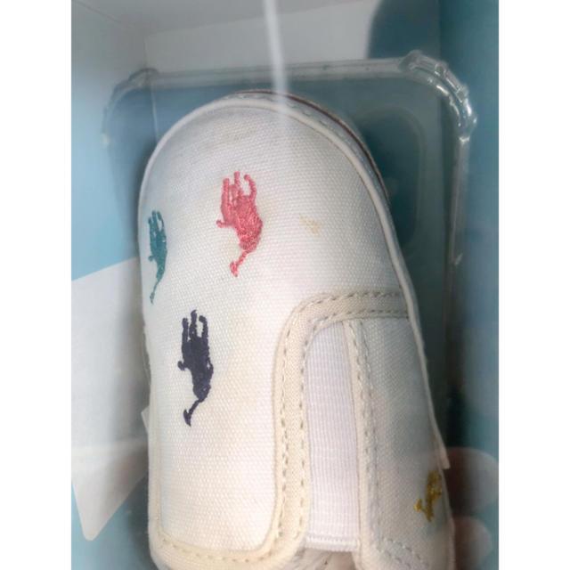Ralph Lauren(ラルフローレン)の★ラルフローレン ベビーシューズ、スニーカー13cm キッズ/ベビー/マタニティのベビー靴/シューズ(~14cm)(スニーカー)の商品写真