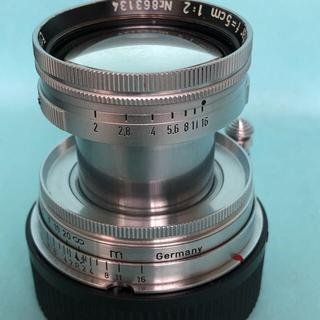 ライカ(LEICA)のLeica ズミタール50mm f2 沈胴式(レンズ(単焦点))