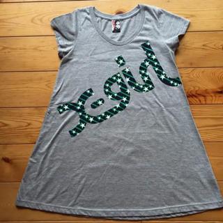 エックスガール(X-girl)のX-girl☆ロングTシャツ(Tシャツ(半袖/袖なし))