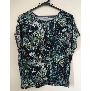 ノンブルアンベール(nombre impair)のNombre Impair 花柄 Tシャツ(Tシャツ(半袖/袖なし))
