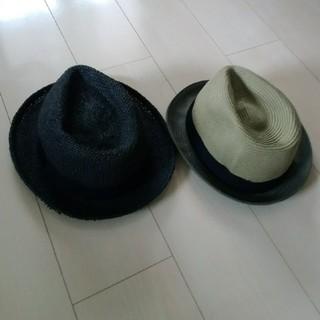 ユニクロ(UNIQLO)のユニクロ GU 中折れハット パナマ帽(ハット)