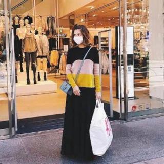 ヌメロヴェントゥーノ(N°21)の紗栄子着用 ヌメロヴェントゥーノ n21 コットンニット(ニット/セーター)