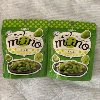 カルビー(カルビー)のカルビー mino ミーノ そら豆 しお味(菓子/デザート)