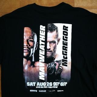 パイオニア(Pioneer)のメイウェザー マクレガー オフィシャル Tシャツ 黒 XL(Tシャツ/カットソー(半袖/袖なし))