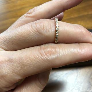 ダイヤモンド フリルリング 確認用(リング(指輪))