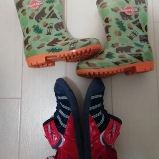 モンベル(mont bell)のキッズ 長靴 ウォーターシューズ 15(長靴/レインシューズ)